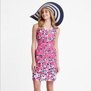 Vineyard Vines Kentucky Derby rose floral dress 💐
